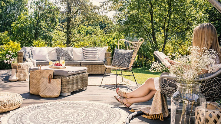 Best material for outdoor rugs