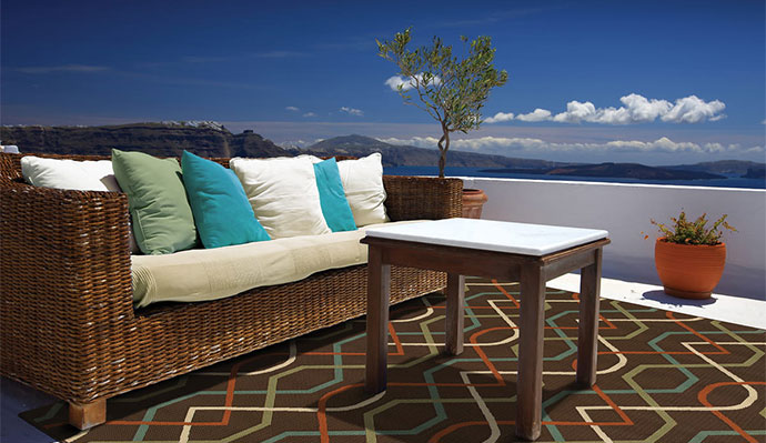 Polypropylene Material For Outdoor Rugs