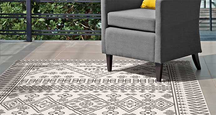 cotton material for outdoor rugs