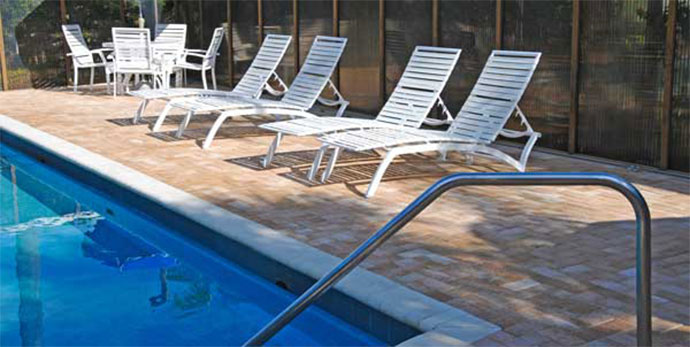 importance of pool house rugs