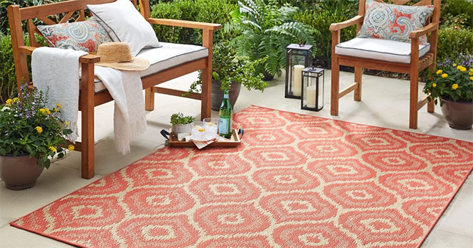 things to consider before buying outdoor rugs