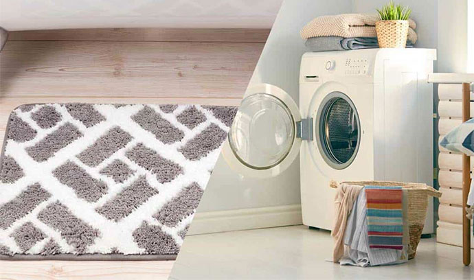 How To Wash Bath Mats in Front Loader