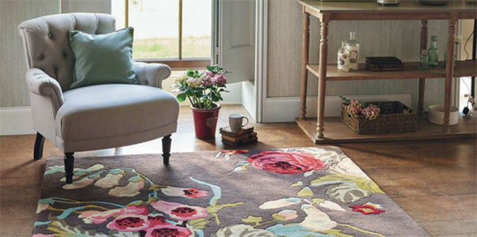 choose the rug color