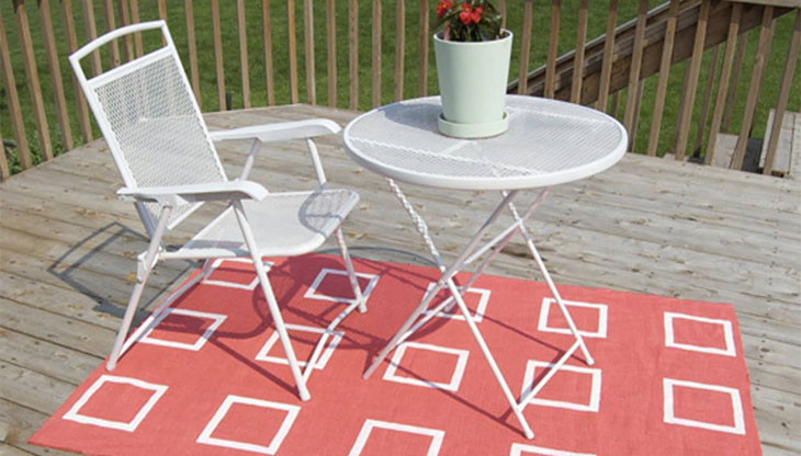 How To Turn An Indoor Rug Into An Outdoor Rug